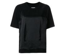 Lockeres T-Shirt im Lagen-Look