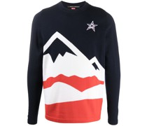 'Multi Mountain' Intarsien-Pullover