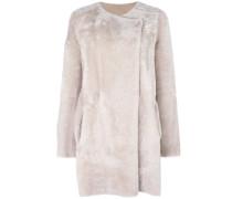 'Nyma' reversible coat