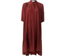 Hemdkleid mit Rüschensaum