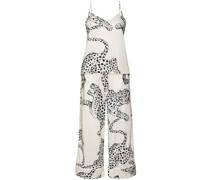 Pyjama mit Jaguar-Print