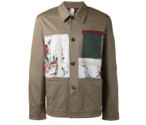 Military-Jacke mit Patches - men