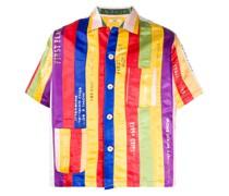 Hemd mit Regenbogenstreifen