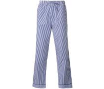 Gestreifte Pyjamahose