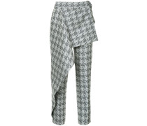 houndstooth brocade West End trousers