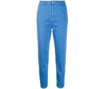 'Fontana' Cropped-Skinny-Jeans