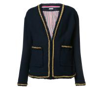 Jacke mit V-Ausschnitt - women - Baumwolle - 40