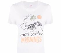 T-Shirt mit Giraffen-Print