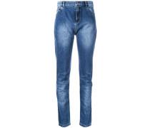 Jeans mit Stone-Wash-Effekt - women - Baumwolle