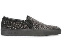 Verzierte Slip-On-Sneakers - women - Leder/Calf