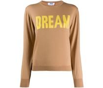 'Dream' Intarsien-Pullover