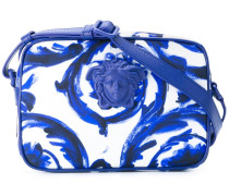 painted Baroque shoulder bag