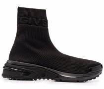 Sock-Sneakers mit breiter Gummisohle