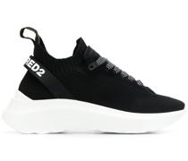 Sneakers mit Logo-Riemen