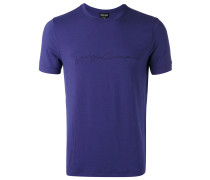 T-Shirt mit Logo - men - Elastan/Viskose - 48