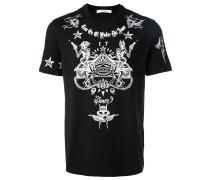 T-Shirt mit Tattoo-Print - men - Baumwolle - L