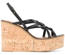 Valia woven wedge sandals