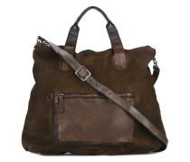 - Reisetasche mit Schulterriemen - men - Leder