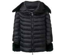 fur trim puffer jacket