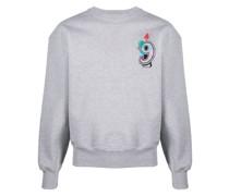 """Sweatshirt mit """"9""""-Stickerei"""