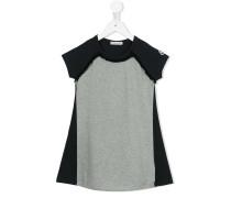 T-Shirtkleid in Colour-Block-Optik