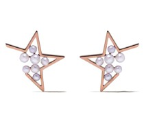 18kt 'Abstract Star' Rotgoldohrringe