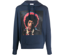 Kapuzenpullover mit Jimi Hendrix-Print