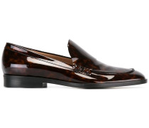 Loafer mit Marmor-Effekt