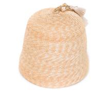 - Strohhut mit Quasten - women - Baumwolle/Stroh