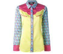 pin-up girl print shirt