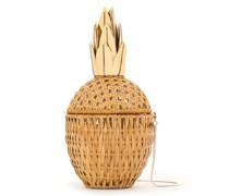 'Abacaxi' Clutch aus Stroh