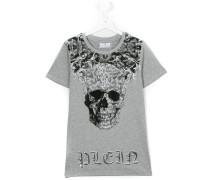 T-Shirt mit verziertem Totenkopf-Print - kids