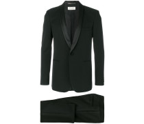 formal fitted two-piece suit