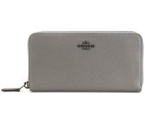 Accordion zip around wallet