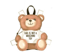 mini toy bear paper cut out backpack