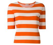 - Gestreiftes T-Shirt - women - Polyester/Viskose