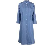 Hemdkleid mit Nadelstreifen
