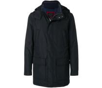 concealed zip-up jacket