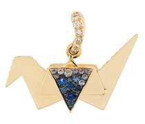 18kt 'Origami' Gelbgoldhalskette