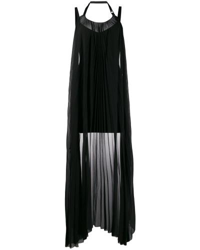 Minikleid mit drapiertem Einsatz