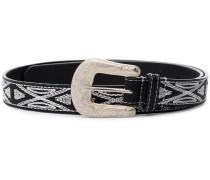 Black 'Tety' Leather Belt