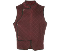 quilted fitted waistcoat