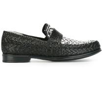 - Gewebte Loafer - men - Leder/rubber - 40.5