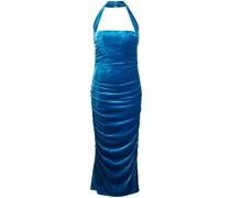 Neckholder-Kleid mit schmalem Schnitt