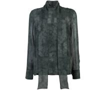 Semi-transparente Bluse mit Farbverlauf