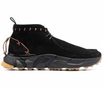 Sneaker-Boots mit Ziernähten