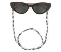 Cat-Eye-Sonnenbrille mit Band