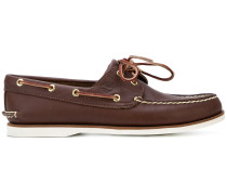 lace boat shoes