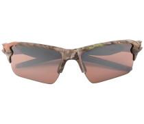 Sonnenbrille mit Camouflage-Print