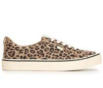 'OCA' Sneakers mit Leoparden-Print